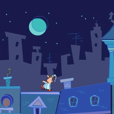 Гра Знайти Вихід: Даху нічного міста