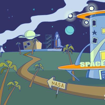 Гра Знайти Вихід з космічного готелю