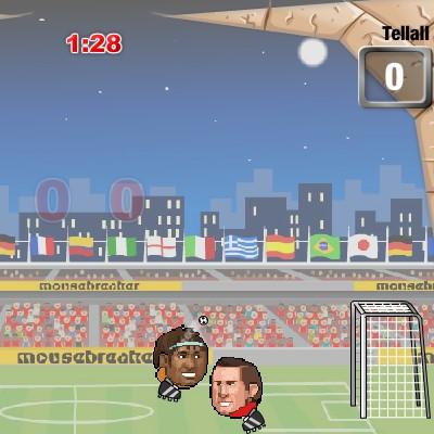 Гра Футбол Головами: Бразилія
