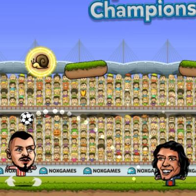 Гра Ляльковий Футбол Головами: Чемпіони