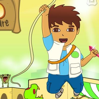 Гра для дітей: Дієго Кришталеве Подорож