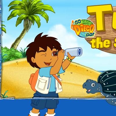 Гра для дітей  Дієго і Морська Черепаха 5395820a39b33