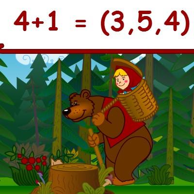 Гра для дітей: Маша і Ведмідь