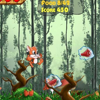Гра для дітей: Котик Тоффі
