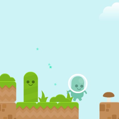Гра для дітей: прибулець Глобби