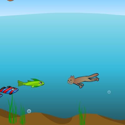 Гра для дітей: Ловець Риби