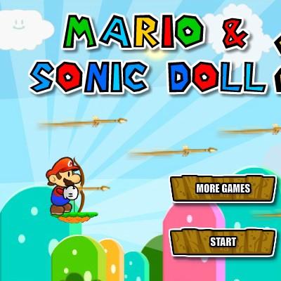 Гра для дітей: Ляльки Соника і Маріо