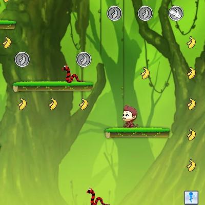 Гра для дітей: Стрибучі Банани