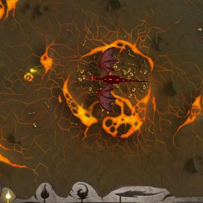 Гра Захисти Дракона: Полум'я