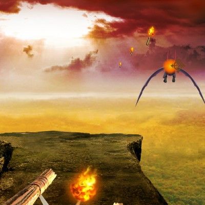 Гра Полювання на драконів: Вогняна Стріла