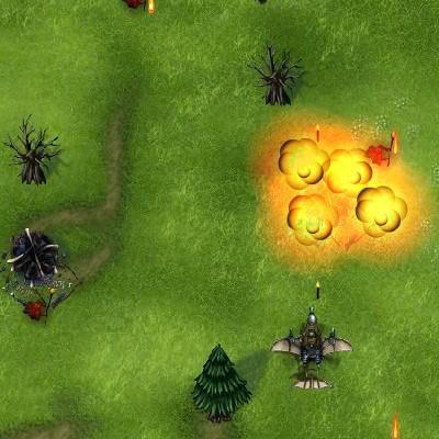 Гра Гноми проти Драконів: Стрілялка над землею