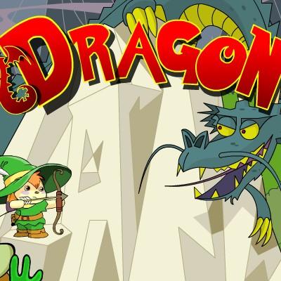 Гра Дракон і Лучник: Спаси принцесу