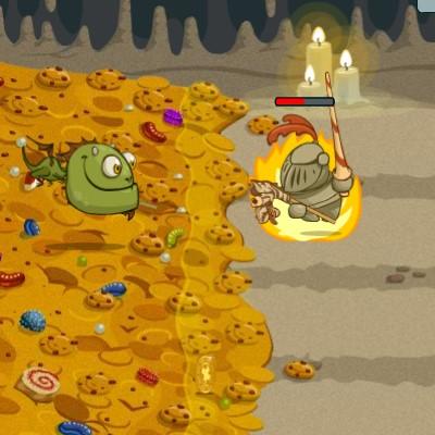 Гра Дракон проти лицарів: Блюдо Дракона