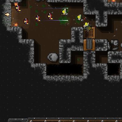 Гра Захист: Війна в Підземеллі