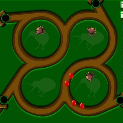 Гра Мавпочки Захисники Бази