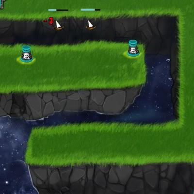 Гра Захист Бази від космічних піратів