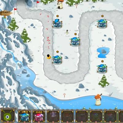 Гра Захист Бази: Битва в Антарктиці