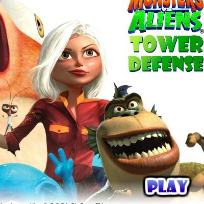 Гра Захист: Монстри проти прибульців
