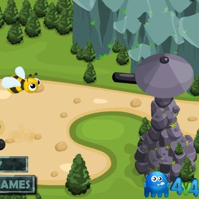Гра Захист Башти від комах