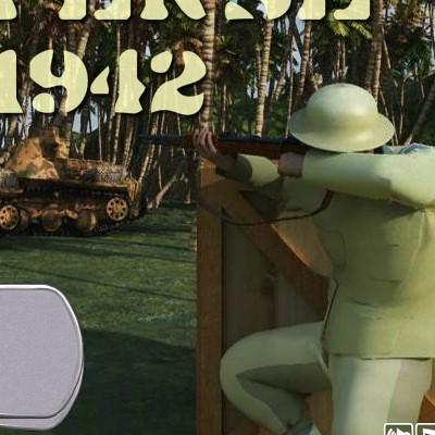 Гра Захист військової бази 1942