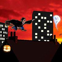 Гра Гаррі Поттер: Нічний політ на мітлі