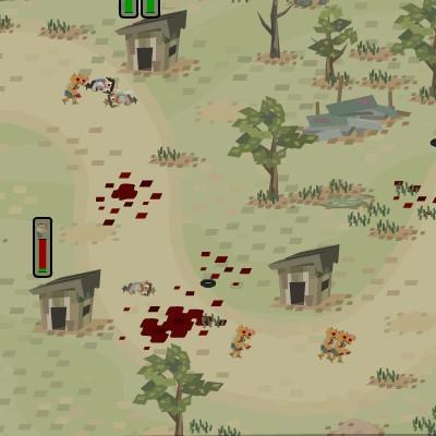Гра Захист міста від мутантів