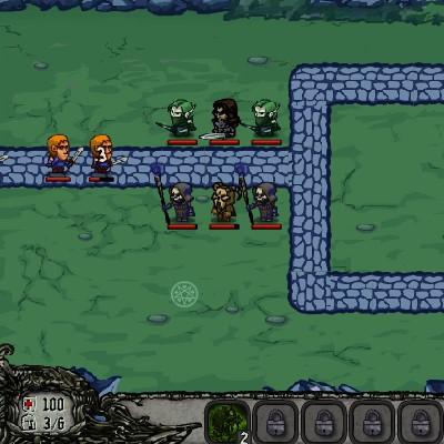 Гра Захист Темного Замку: Злі Чари