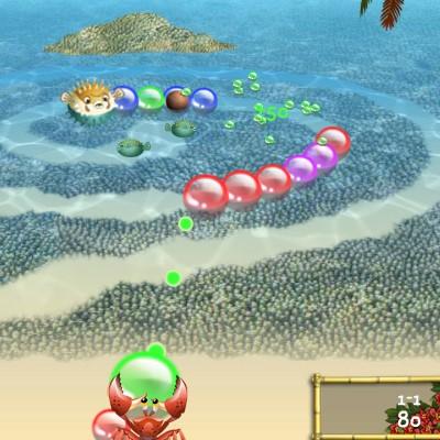 Гра Ізометрична Зума: Тропічний антураж