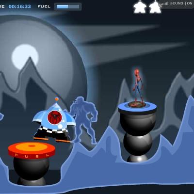 Гра Леталка: Космічний корабель рятує іграшки