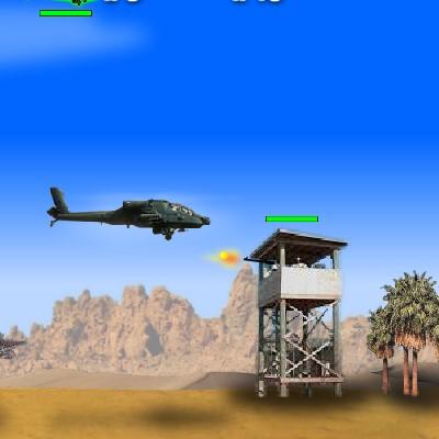 Гра Леталка: Вертоліт в пустелі