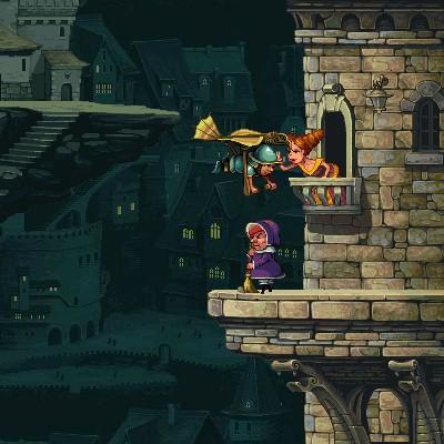 Гра леталка: Падіння лицаря