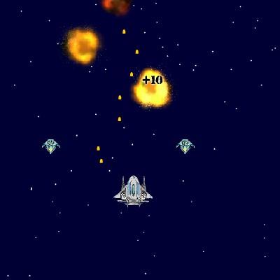 Гра Леталка Стрілялка в космосі проти прибульців
