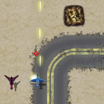 Гра Леталка Стрілялка проти танків і літаків: Палаючі Небеса