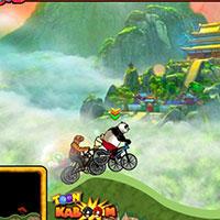 Гра Кунг Фу Панда на велосипеді