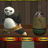 Гра Кунг Фу Панда на тренуванні