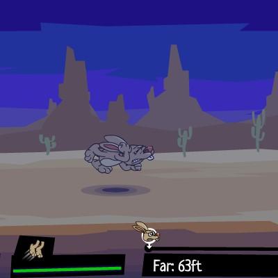 Гра Леталка: Запуск Зайця