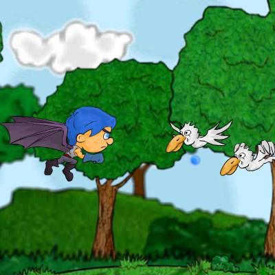 Гра Леталка: Хлопчик з крилами