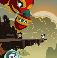 Гра Кунг Фу Панда 2 - Грати онлайн безкоштовно!