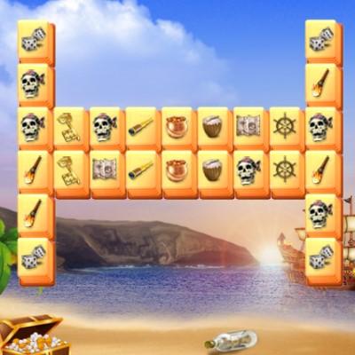Гра Маджонг: Піратські Скарби