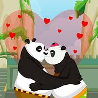 Гра Кунг Фу Панда цілується