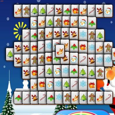 Гра Маджонг: Санта Клаус і Різдво