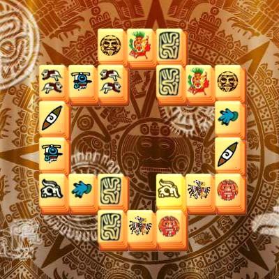 Гра Маджонг з рівнями: Вежі Майя