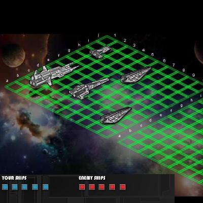 Гра Морський Бій у Космосі