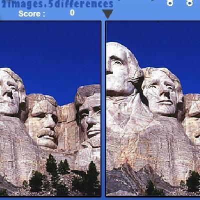 Гра Знайди Відмінності: Пейзажі