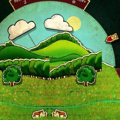 Гра Знайди Відмінності: Дзеркальне Відображення на час