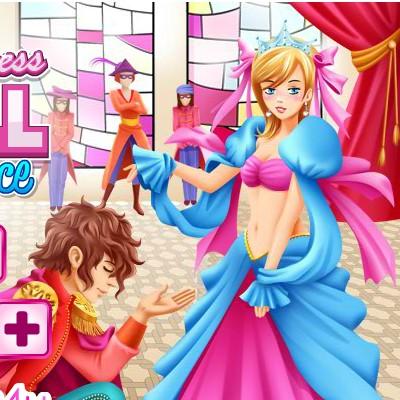 Гра Знайди Відмінності: Королівський Бал Принцеси