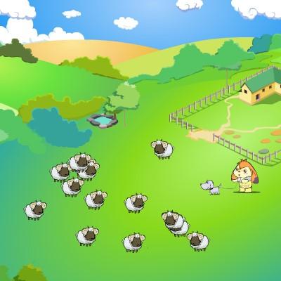 Гра Овечки: Збери стадо воєдино