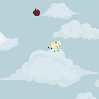 Гра скакалки з овечкою: Високий стрибок