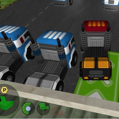 Гра Парковка Вантажівки Далекобійника 3д