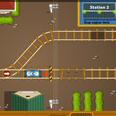 Гра Парковка поїзда